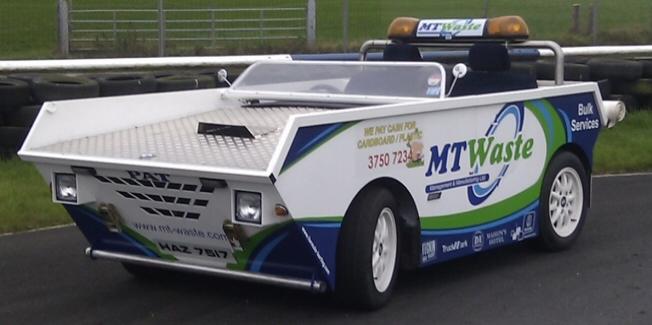 MT Waste Skip Car
